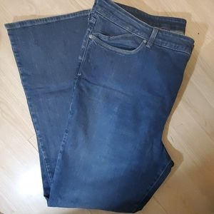 Womans Bootcut Jean's- size 24w